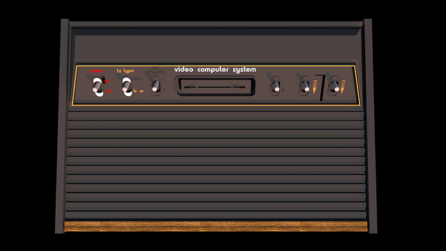 Free download Atari 2600 Game free illustration to be edited with GIMP online image editor