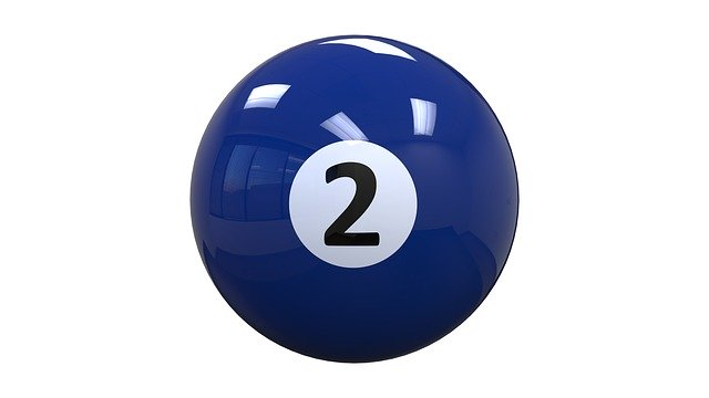 Free download Billiards Ball Two free illustration to be edited with GIMP online image editor