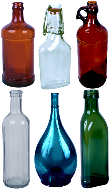 Free download Bottle Colored Glass Cork -  free illustration to be edited with GIMP online image editor