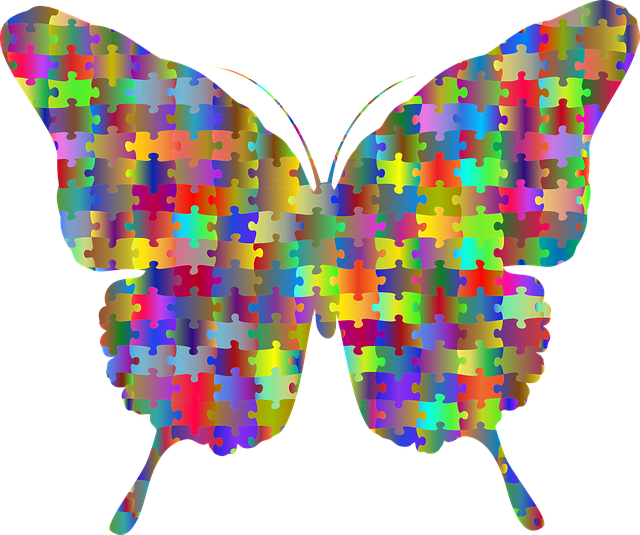 Free download Butterfly Jigsaw PuzzleFree vector graphic on Pixabay free illustration to be edited with GIMP online image editor