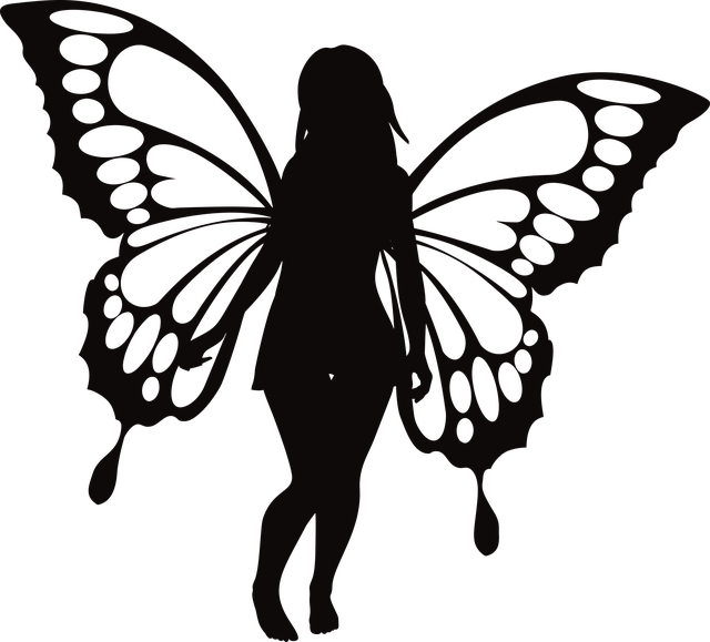 Free download Butterfly Woman SilhouetteFree vector graphic on Pixabay free illustration to be edited with GIMP online image editor