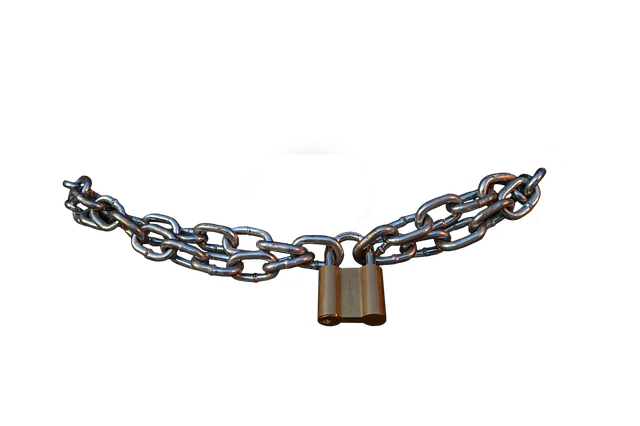 Free download Chain Castle Security free illustration to be edited with GIMP online image editor