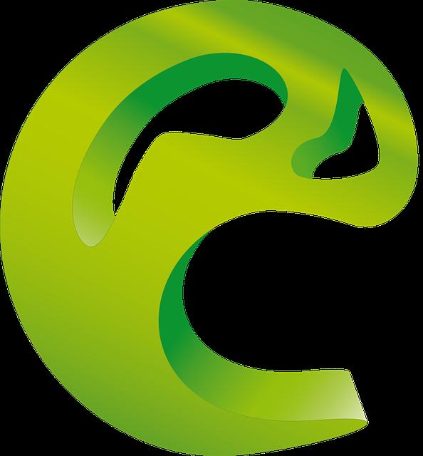 C Logo: Circle Logo C