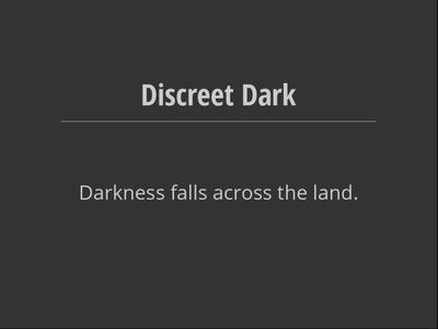 Free download Discreet Dark DOC, XLS or PPT template free to be edited with LibreOffice online or OpenOffice Desktop online