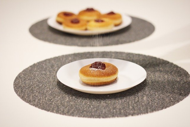 Template Photo Donut Sweets Food for OffiDocs