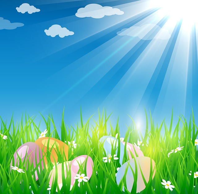 Easter Background Grass