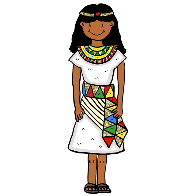 Free download Girl Ancient Egypt free illustration to be edited with GIMP online image editor