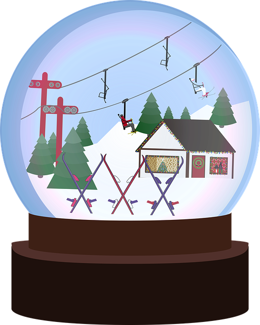 Free download Graphic Snowglobe WinterFree vector graphic on Pixabay free illustration to be edited with GIMP online image editor