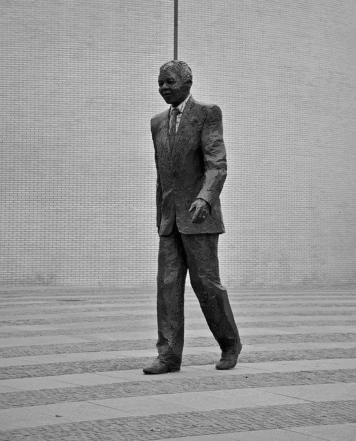 Free download Nelson Mandela Statue Politics free photo template to be edited with GIMP online image editor