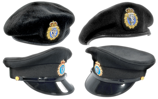 Free download OfficerS Cap Military Takes Shape -  free illustration to be edited with GIMP online image editor