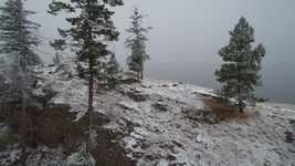 Free download Okanagan Snowfall Crag free video to be edited with OpenShot online video editor
