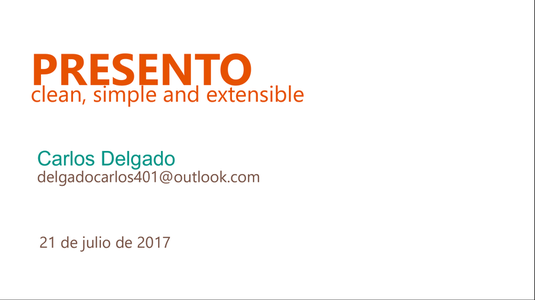 Free download Presento DOC, XLS or PPT template free to be edited with LibreOffice online or OpenOffice Desktop online
