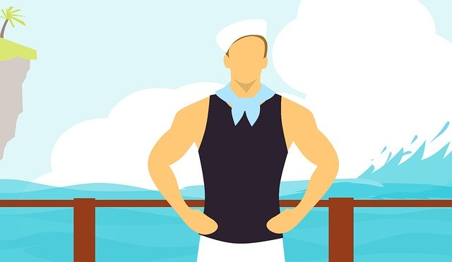 Free download Sailor Uniform Work free illustration to be edited with GIMP online image editor