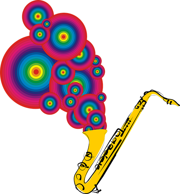 Free download Saxophone Music Instrument -  free illustration to be edited with GIMP online image editor