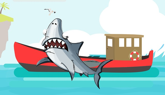 Free download Shark Jaws Fish free illustration to be edited with GIMP online image editor