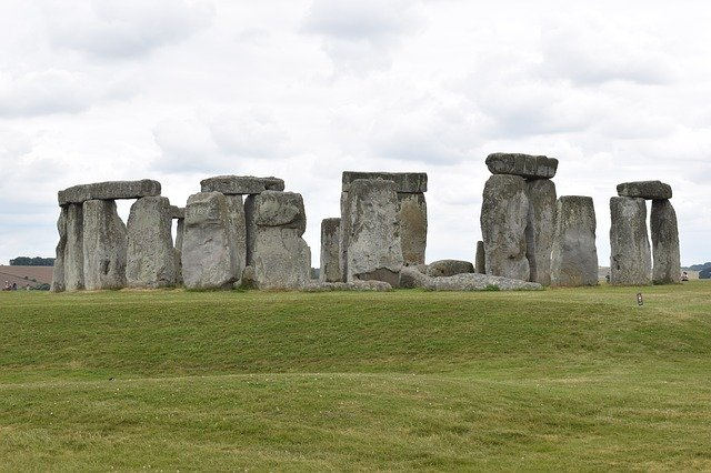 Free download Stonehenge Rock England free photo template to be edited with GIMP online image editor