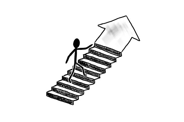 Free download Success Stairs Business free illustration to be edited with GIMP online image editor