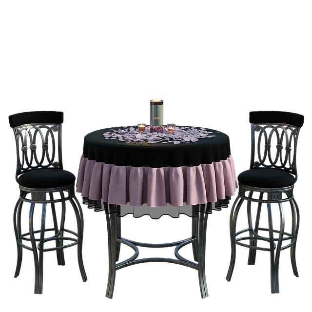 Free download Table Chairs Dinner free illustration to be edited with GIMP online image editor