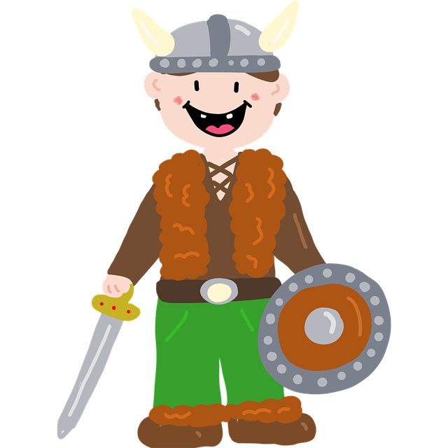 Free download Viking History Cute free illustration to be edited with GIMP online image editor