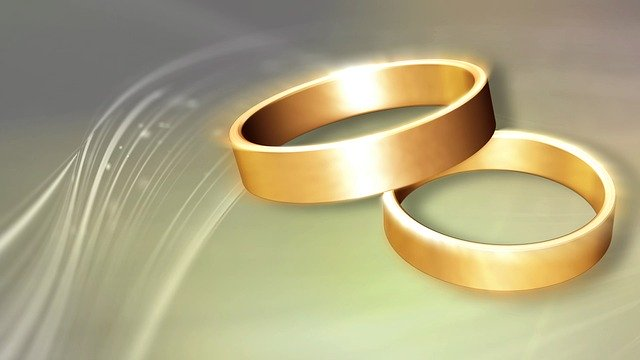 Free download Wedding Rings Love Marriage free illustration to be edited with GIMP online image editor