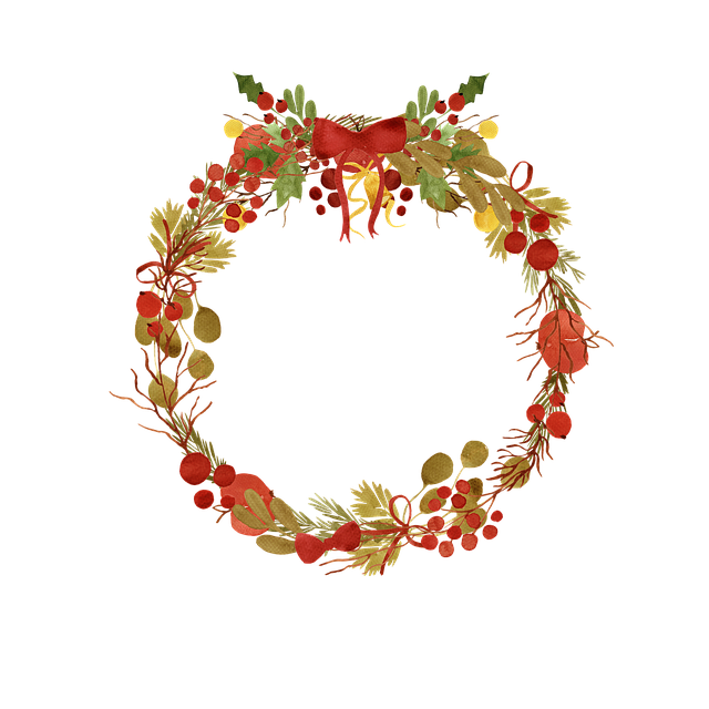 Free download Wreath Berry Fall free illustration to be edited with GIMP online image editor