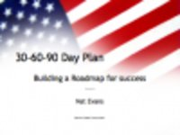 Free download 30 60 90 Day Plan Template Microsoft Word, Excel or Powerpoint template free to be edited with LibreOffice online or OpenOffice Desktop online