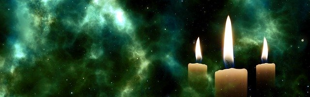 Free download Candles Star Space free illustration to be edited with GIMP online image editor