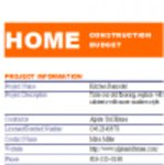 Free download Home Renovation Project Model Template Microsoft Word, Excel or Powerpoint template free to be edited with LibreOffice online or OpenOffice Desktop online