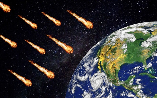 Free download Meteors Comet Apocalypse free illustration to be edited with GIMP online image editor
