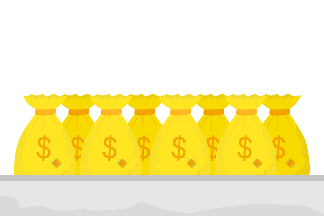 Free download Money Bag Many GoldFree vector graphic on Pixabay free illustration to be edited with GIMP online image editor