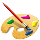 Open Web xpaint editor image and painter