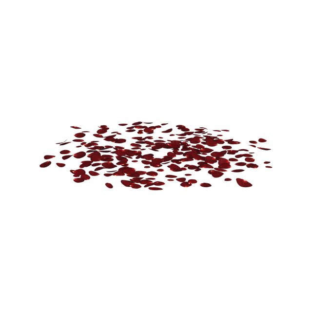 Free download Rose Petals Scattered free illustration to be edited with GIMP online image editor