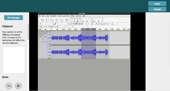 remove static from audio recording