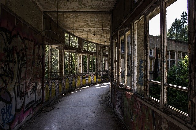 Free download Urban Exploration Abandoned free photo template to be edited with GIMP online image editor